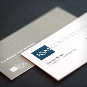 KSM Business Cards
